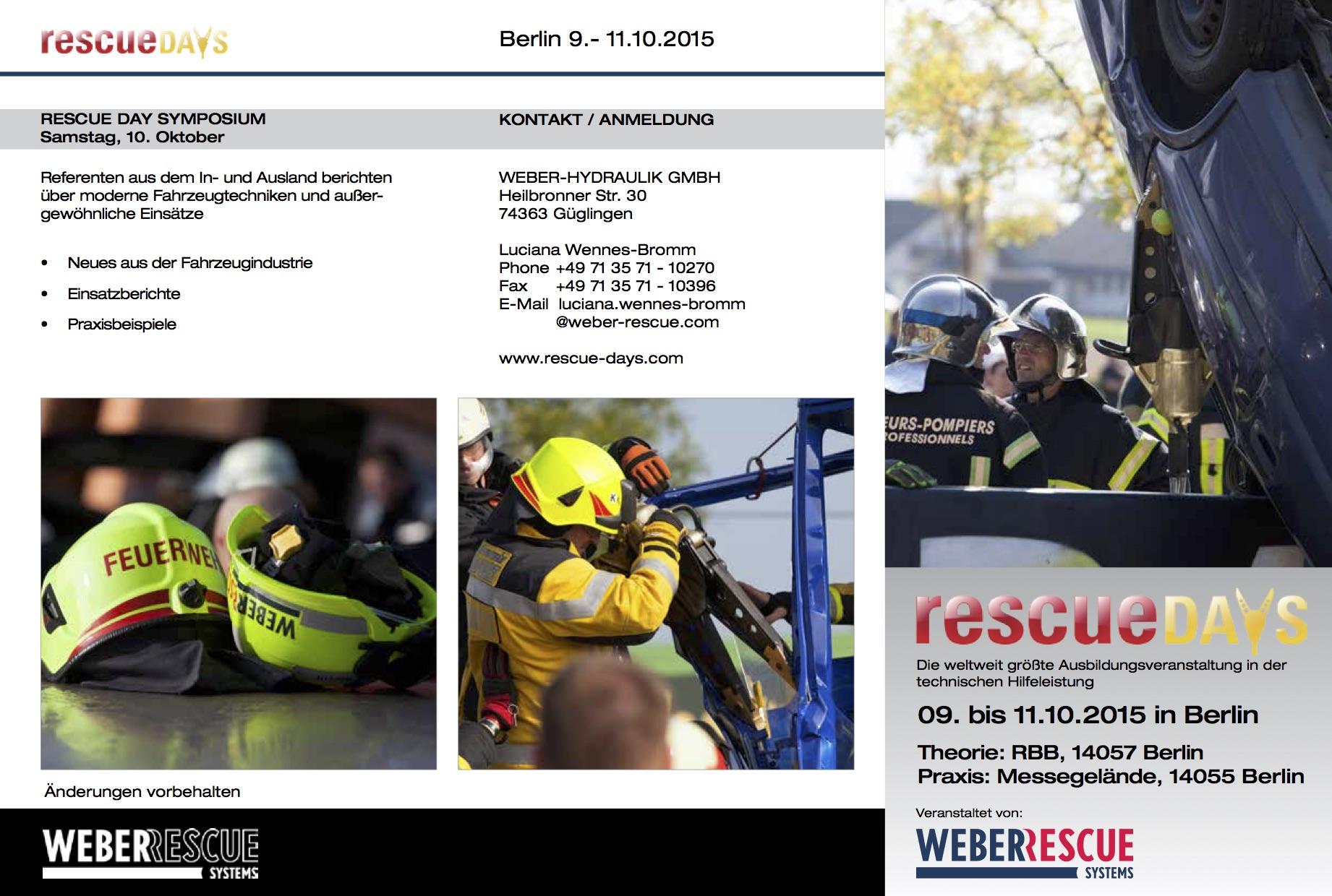 Rescue Days 1